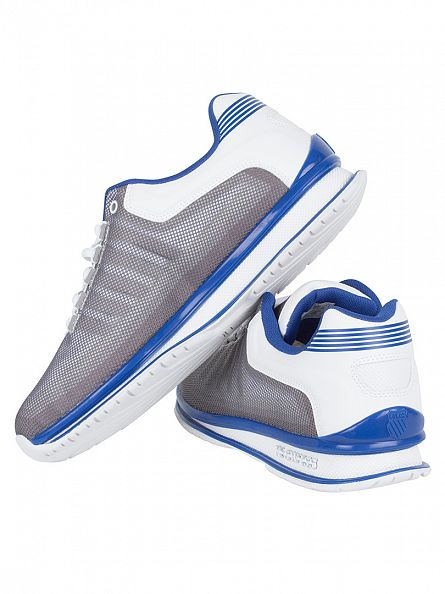 K-Swiss White/Classic Blue Rinzler SP Trainers