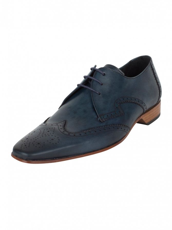 Jeffery West Dark Blue Escoba Kenda Shoes