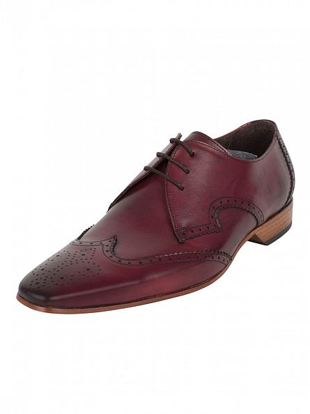 Jeffery West Burgundy Escoba Kenda Shoes
