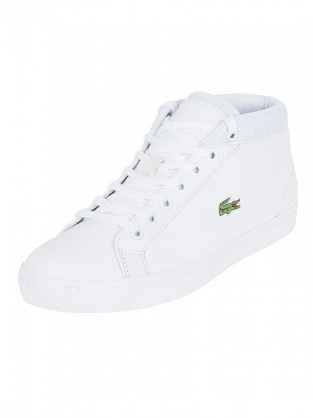 Lacoste White Straightset Chukka 316 3 SPM Trainers