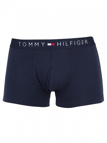 Tommy Hilfiger Navy Blazer Icon Cotton Stretch Logo Trunks