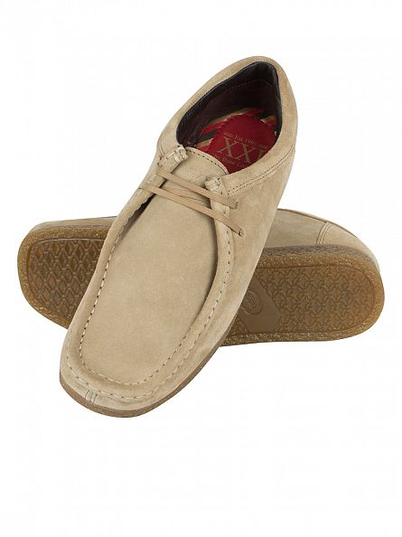Base London Taupe Genesis Wallabee Boots