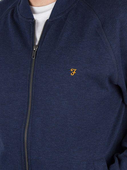 Farah Vintage Yale Marl Carrick Bomber Jacket
