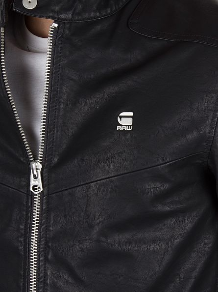 G-Star Black Avier G.P.L Logo Jacket
