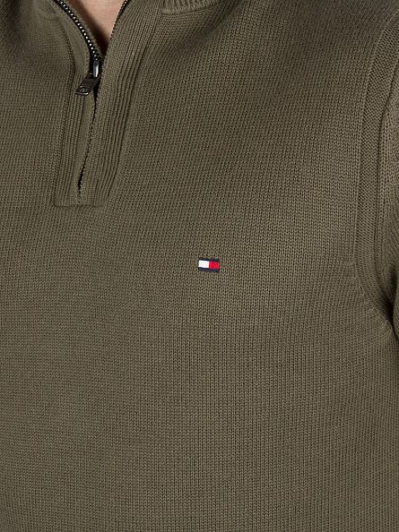 Tommy Hilfiger Grape Leaf Atlantic Z-MK Zip Knit
