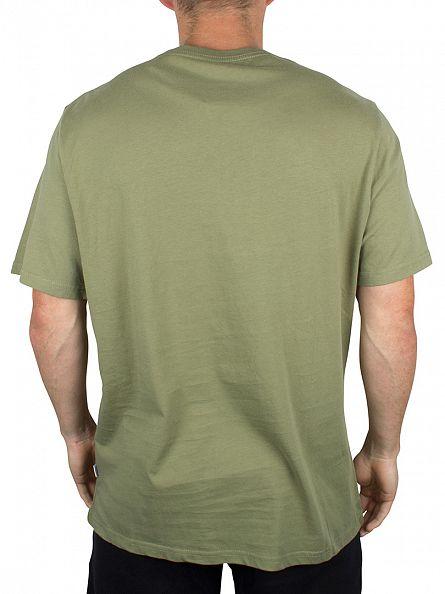 Converse Fatigue Green Core Chuck Patch Logo T-Shirt