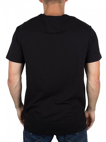 G-Star Dark Black Ocat Large Graphic T-Shirt