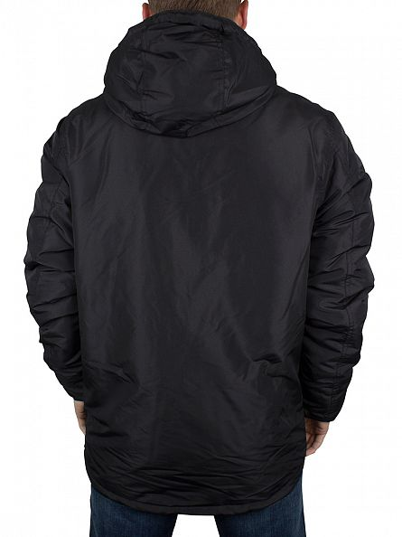 Jack & Jones Black New Canyon Hooded Jacket