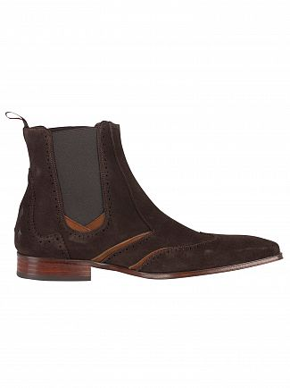 Jeffery West Ante Vacuno Dark Brown/Ante Vacuno Tan Scarface Boots