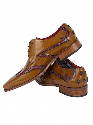 Jeffery West College Honey/College Red Yardb Lille Shoes