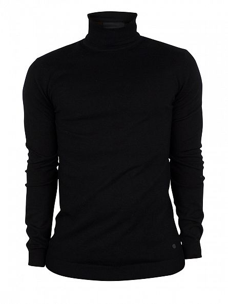 Minimum Black Thad Turtleneck Knit