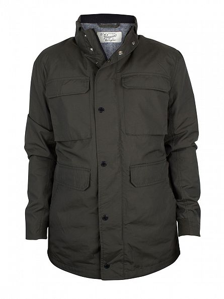 Original Penguin Dusty Olive Nylon Ottoman M65 Jacket