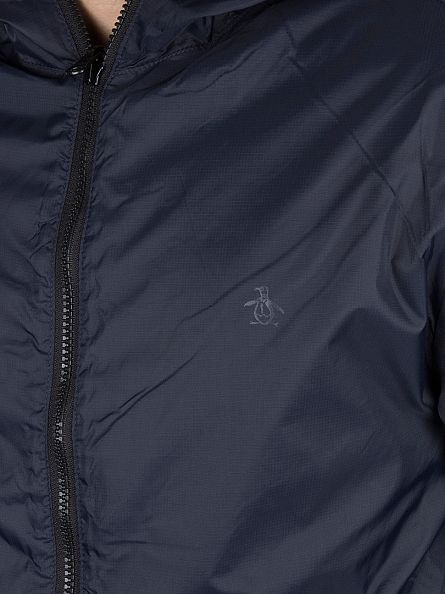 Original Penguin Pomegranate/Navy Reversible Shell Logo Jacket