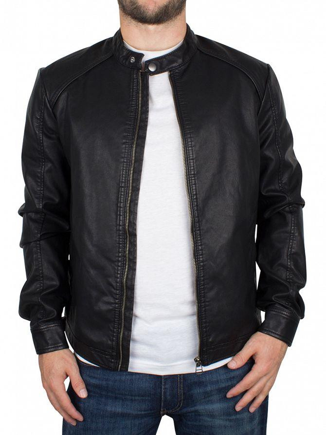 Jack & Jones Black Original Zip Jacket