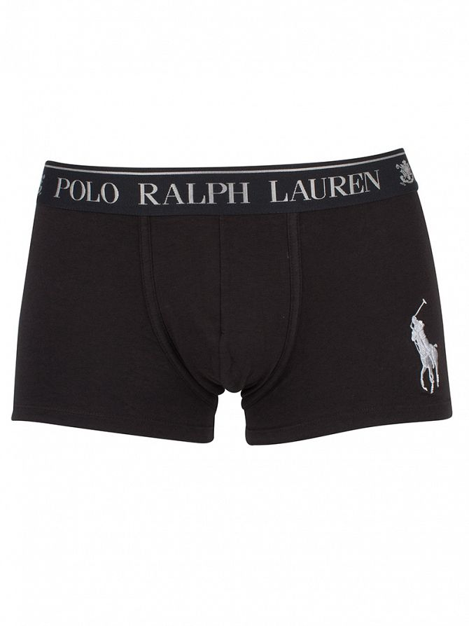 Polo Ralph Lauren Polo Black/Silver Classic Logo Trunks