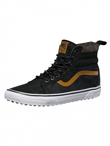 Vans Black/Tweed Sk8-Hi MTE Trainers