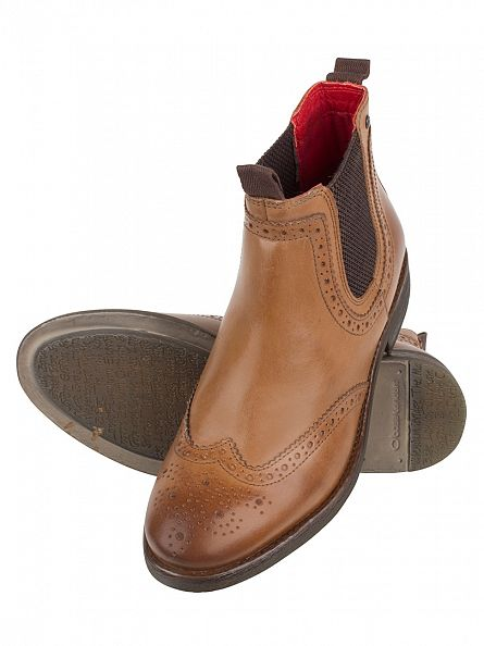 Base London Burnished Tan Southwark Boots