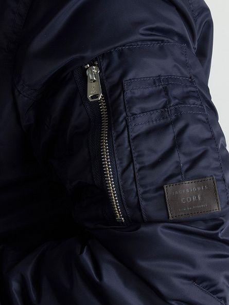 Jack & Jones Navy Blazer Porten Bomber Jacket