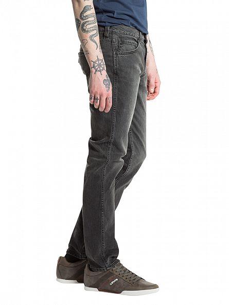 Levi's Charcoal Line 8 511 Slim Mid Grey Jeans