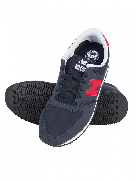 New Balance Navy 420 T3 Core Plus Trainers