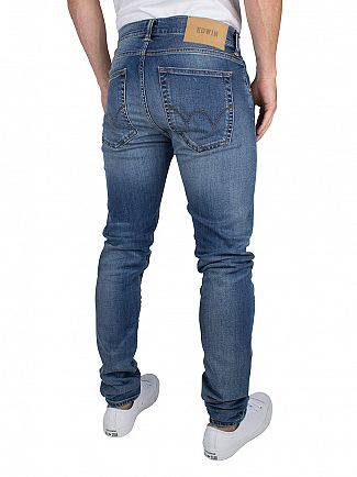 Edwin Grime Wash Nightblue Denim ED-85 Drop Crotch Slim Fit Jeans