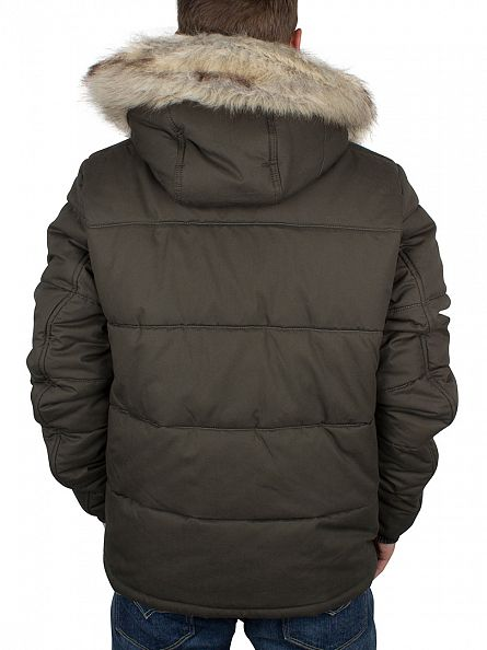 G-Star Asfalt Whistler HDD Fur Jacket