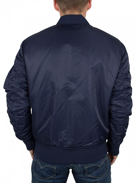 Jack & Jones Navy Blazer Porten Bomber Jacket