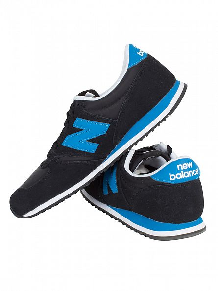 New Balance Black/Blue 420 T3 Core Plus Trainers