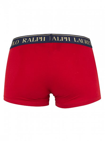 Polo Ralph Lauren Franklin Red Classic Logo Trunks