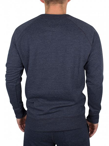 Tommy Hilfiger Navy Blazer Icon HWK Logo Sweatshirt