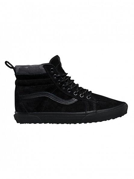 Vans Black/Black/Camo Sk8-Hi MTE Trainers