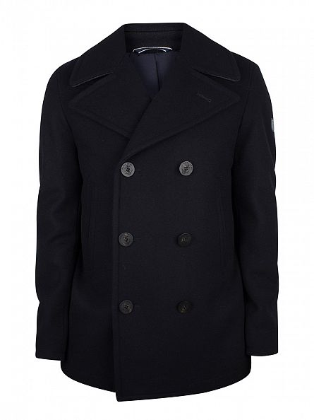 Gant Navy The Riverside Pea Coat