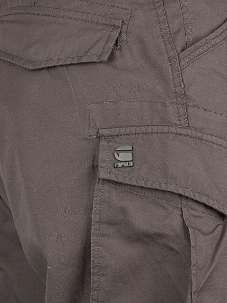 G-Star GS Grey Rovic Zip Loose Fit Cargo Shorts