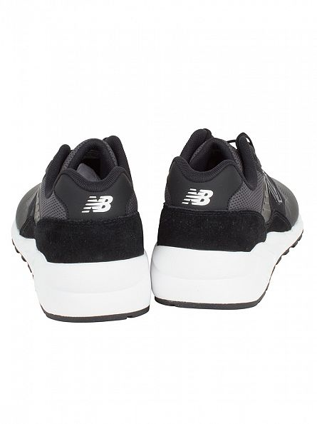 New Balance Black 580 Jacquard Trainers