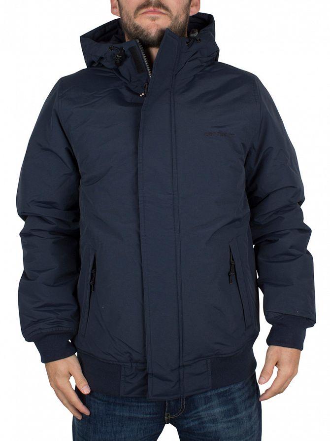 Carhartt WIP Navy/Black Kodiak Blouson Logo Jacket