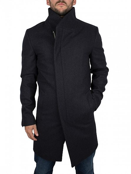Minimum Charcoal Melange Allston Coat