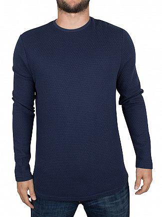 Only & Sons Dress Blues Fly Plain Knit