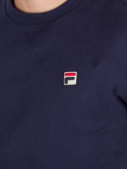Fila Vintage Peacoat Brixen Logo Sweatshirt