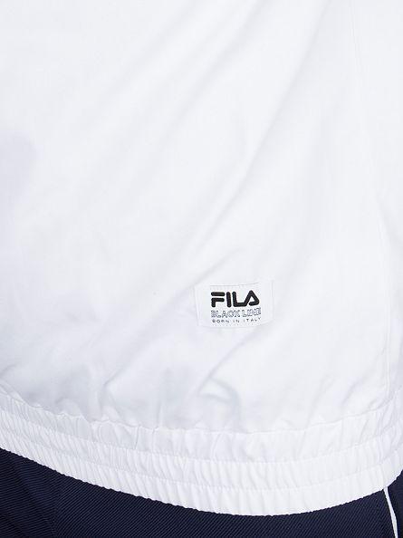 Fila Vintage Peacoat Senna Half Zip Panel Logo Jacket