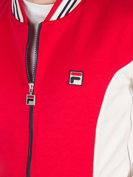 Fila Vintage Chinese Red Settanta Logo Track Jacket