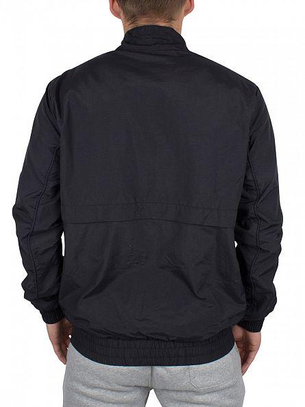 Fila Vintage Black Kekova Logo Zip Track Jacket