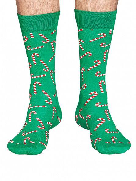 Happy Socks Multi 3 Pack Christmas Gift Socks Box
