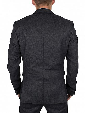 Minimum Dark Grey Melange Hunts Blazer