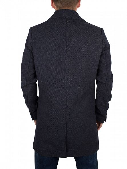 Only & Sons Dark Navy Otto Twill Coat