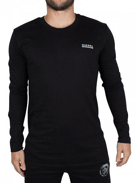 Diesel Black UMLT Longsleeved Justin T-Shirt