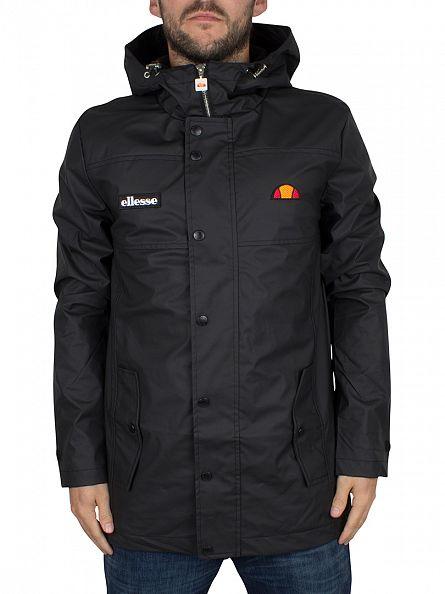 Ellesse Anthracite Castelli Logo Jacket