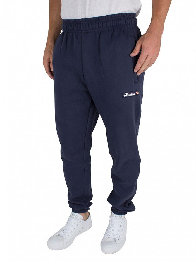 Ellesse Dress Blues Isetta Fleece Logo Joggers