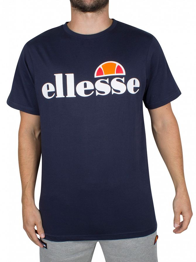 Ellesse Dress Blues Quattro Venti Logo T-Shirt