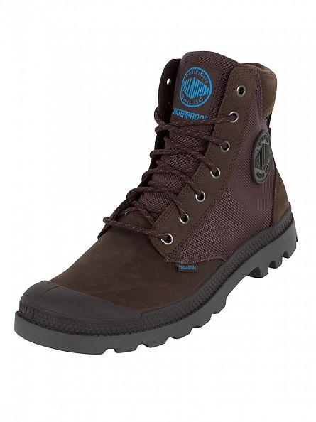 Palladium Chocolate/Frgdirn Pampa Sport Cuff WPN Boots
