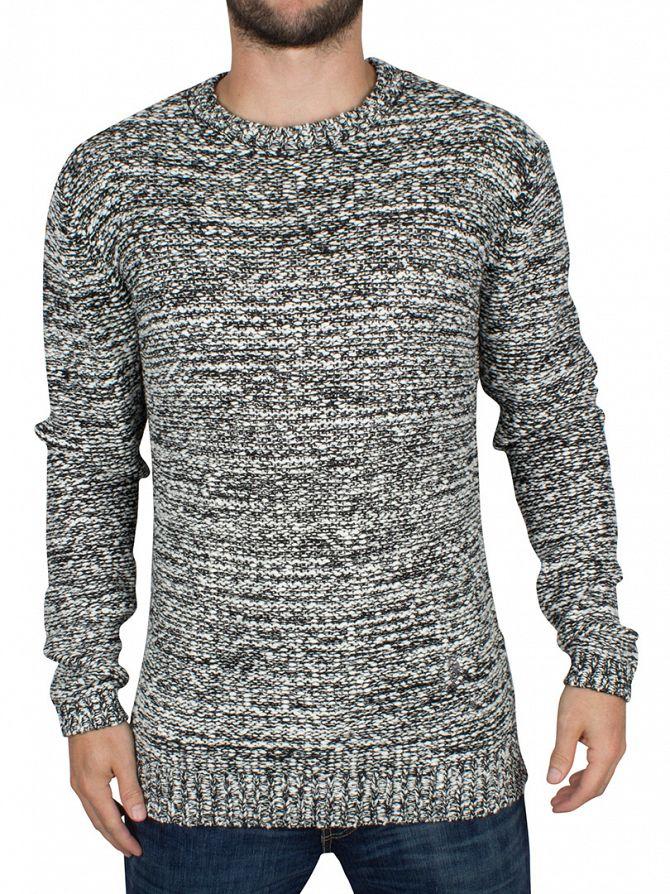 Religion White/Black Static Knit